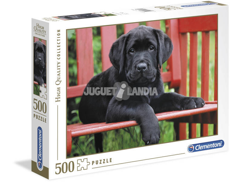 PuzzleThe Black dog 500 pezzi High Quality Collection Clementoni 30346