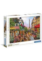 imagen Puzzle 1000 Flores En París Clementoni 39482