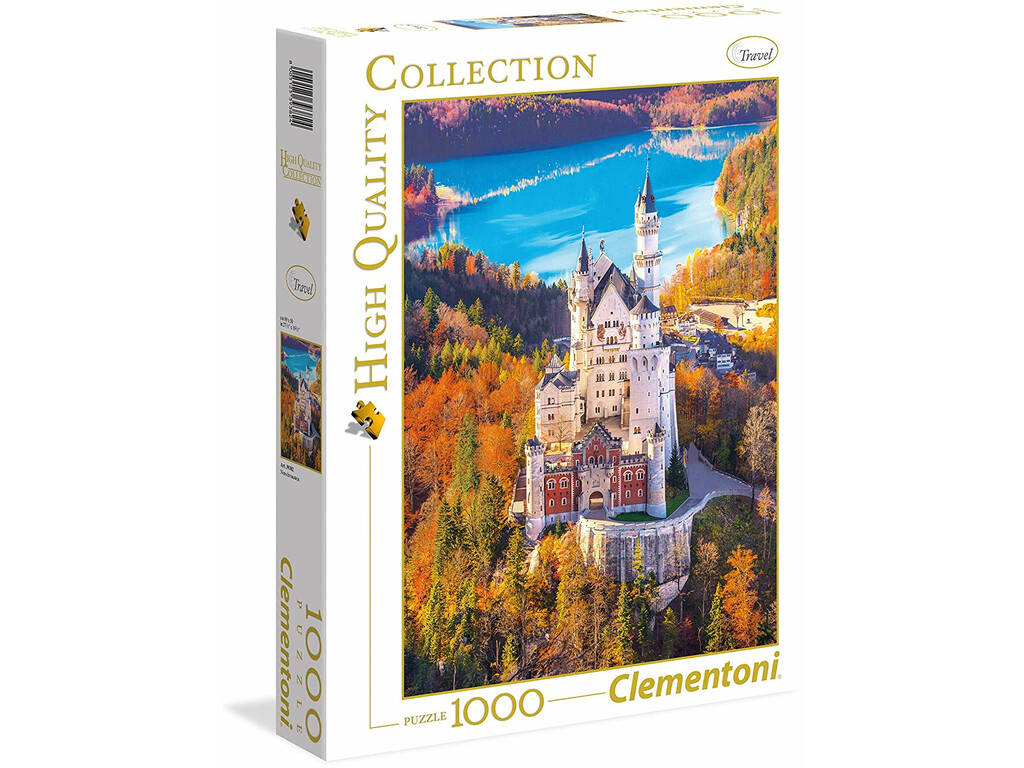 Neuschwanstein - 1000 pezzi - High Quality Collection Clementoni 39382