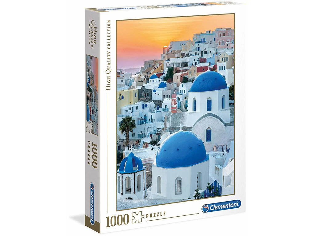 Santorini - 1000 pezzi - High Quality Collection Clementoni 39480