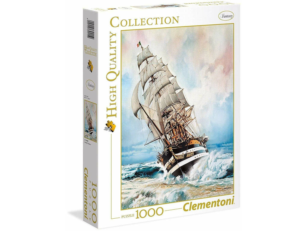 Amerigo Vespucci - 1000 pezzi - High Quality Collection Clementoni 39415