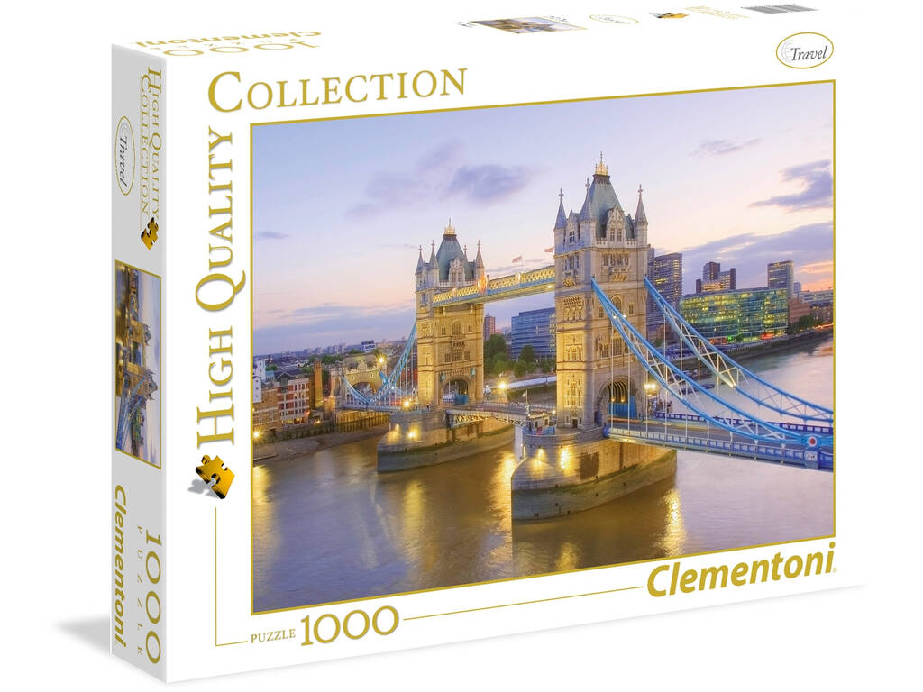 Puzzle 1.000 Tower Bridge Clementoni 39022