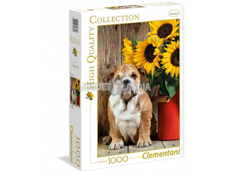 Puzzle 1000 The Bulldog Clementoni 39365