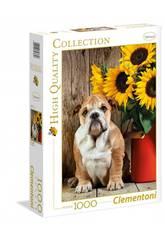 imagen Puzzle 1000 The Bulldog Clementoni 39365