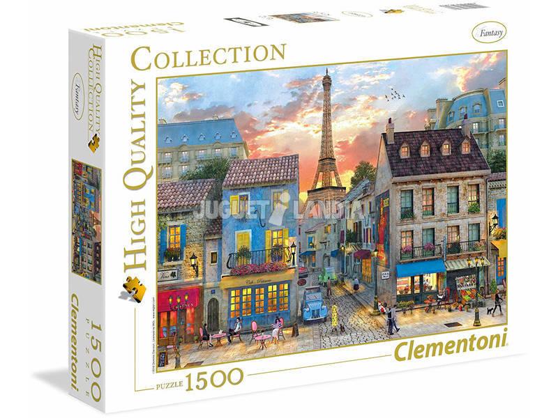 Puzzle Streets of Paris 1500 pezzi High Quality Collection Clementoni 31679