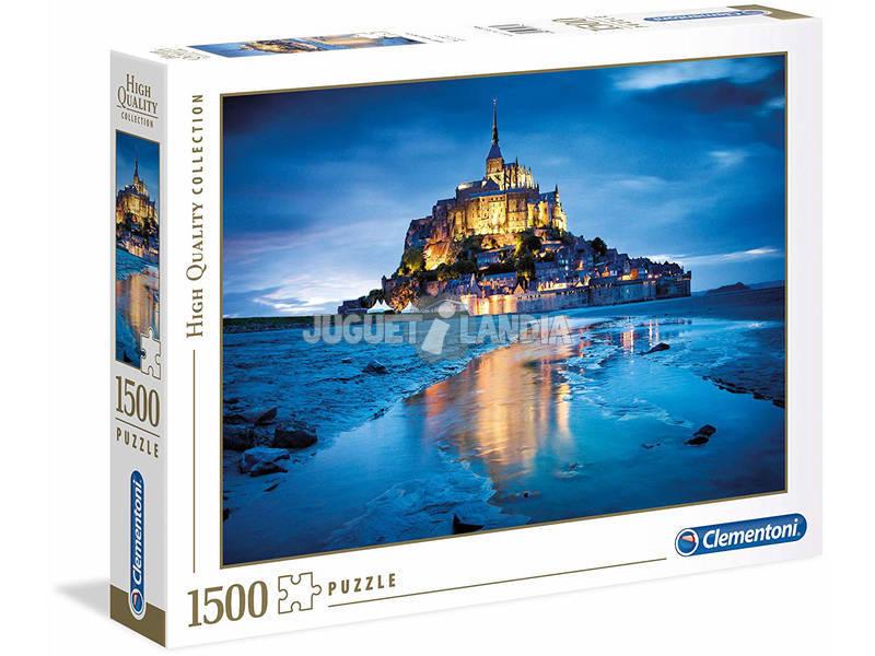 Le Mont Saint-Michel - 1500 pezzi - High Quality Collection Clementoni 31994
