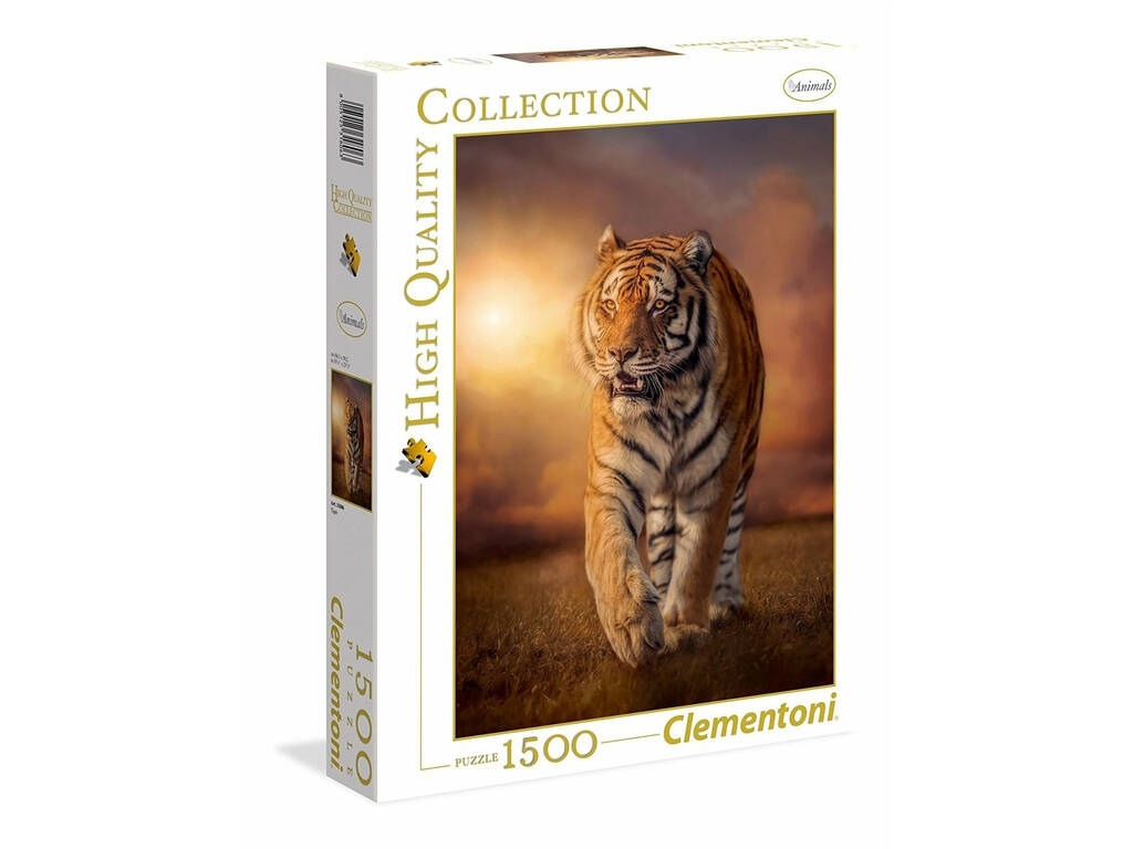 Puzzle Tiger 1500 pezzi High Quality Collection Clementoni 31806