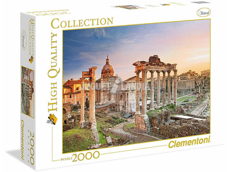Puzzle 2000 Foro Romano Clementoni 32549
