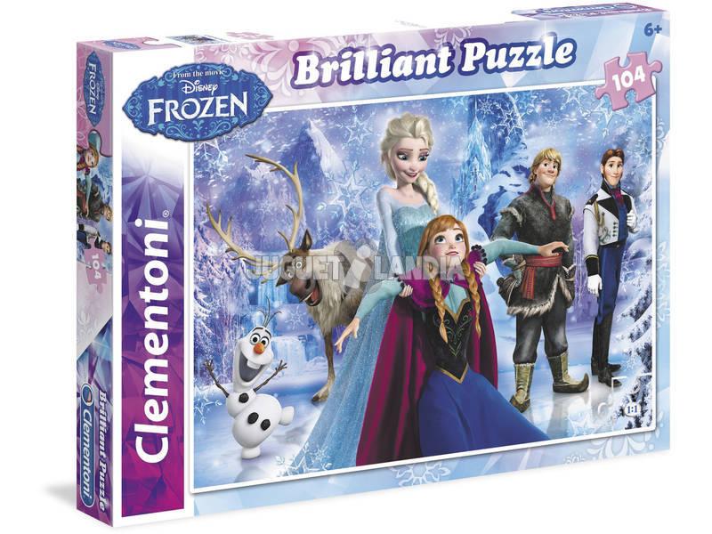 Disney Frozen - 104 pezzi - Brilliant Puzzle Clementoni 20127