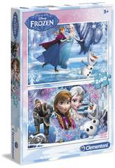 Puzzle 2x60 Frozen Clementoni 7119
