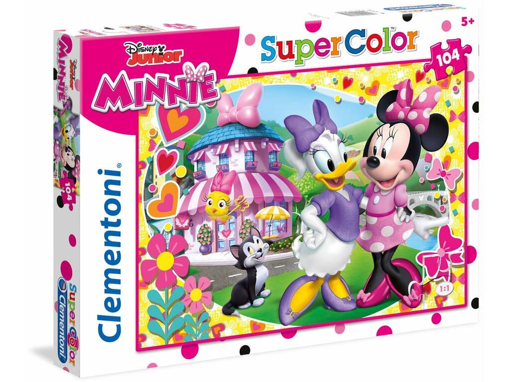 Disney Minnie - 104 pezzi - Supercolor Puzzle Clementoni 27982