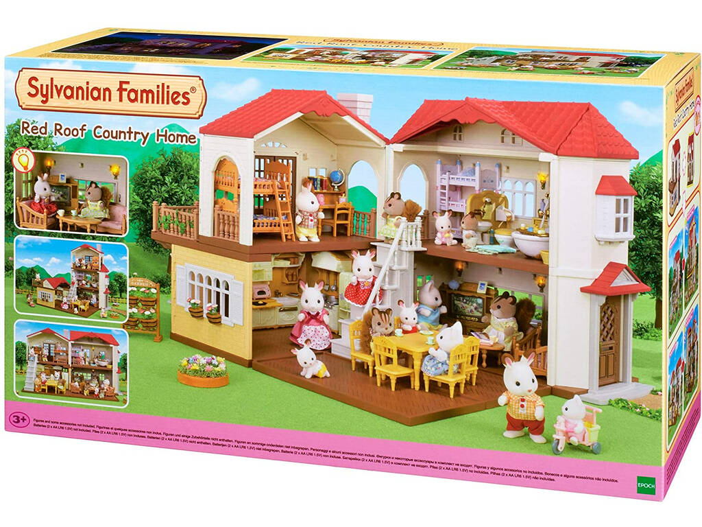 Sylvanian Families Casa Con Luces Epoch Para Imaginar 5302