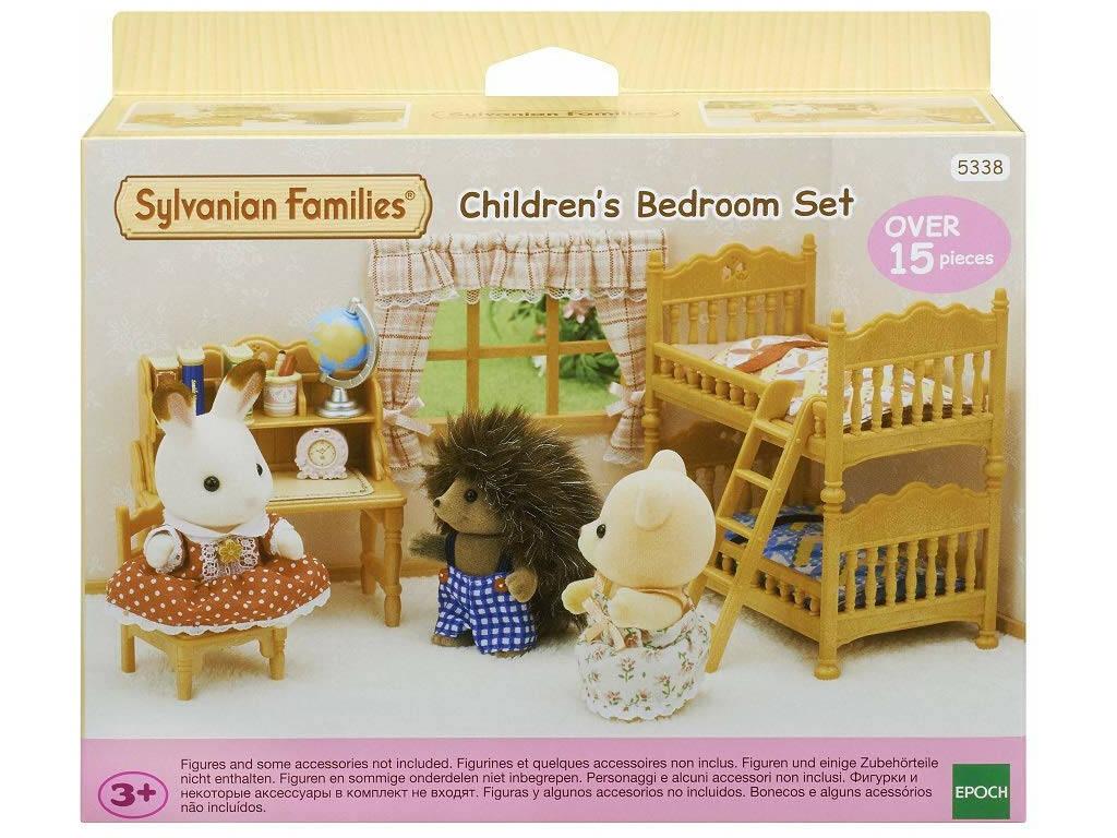 Sylvanian Families Nuova camera dei bambini Epoch Para Imaginar 5338