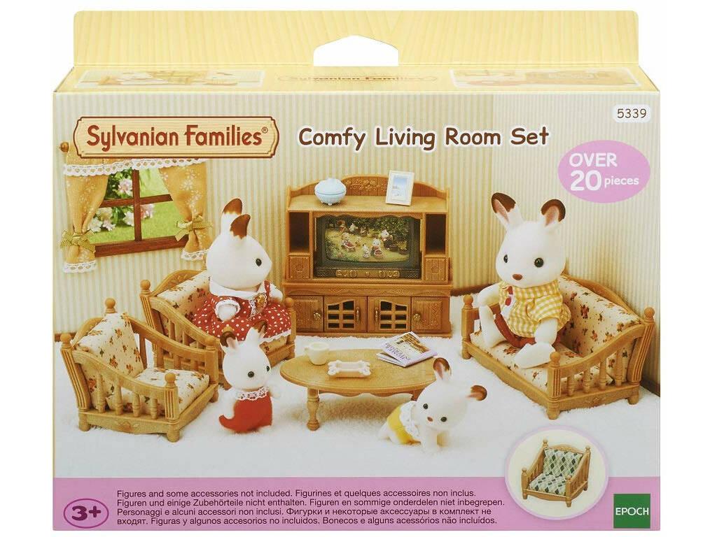 Sylvanian Families Set Sala de Casa Epoch Para Imaginar 5339