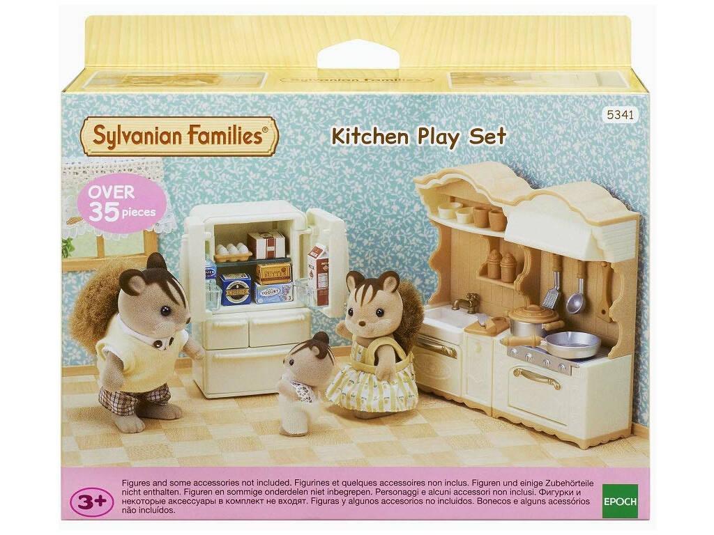 Sylvanian Families Set Cozinha Epoch Para Imaginar 5341
