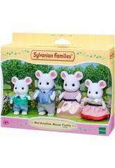 Sylvanian Families Familia Ratón Marshmallow Epoch Para Imaginar 5308