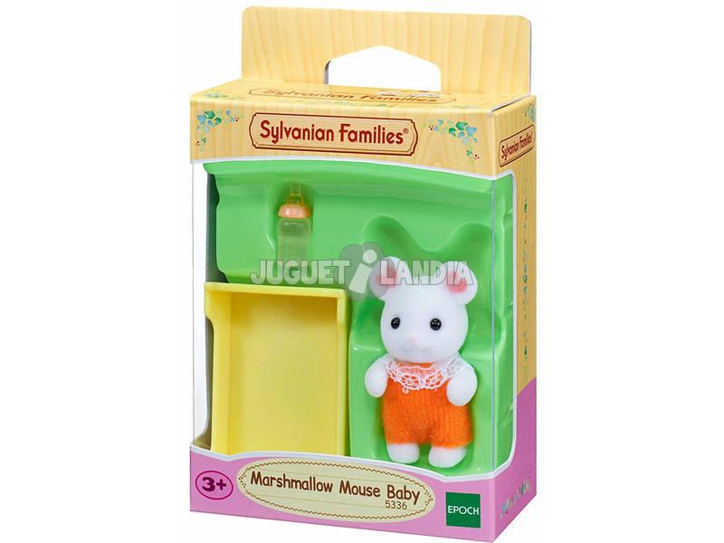 Sylvanian Families Bebè Topo Bianco Marshmallow Epoch Para Imaginar 5336