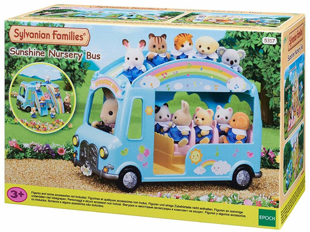 Sylvanian Families Autobús de la Guardería Epoch Para Imaginar 5317