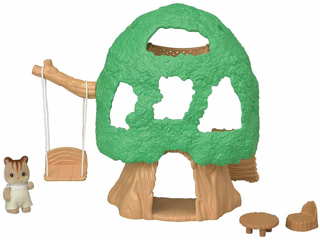 Sylvanian Families Casa da Árvore Para Bebês Epoch Para Imaginar 5318