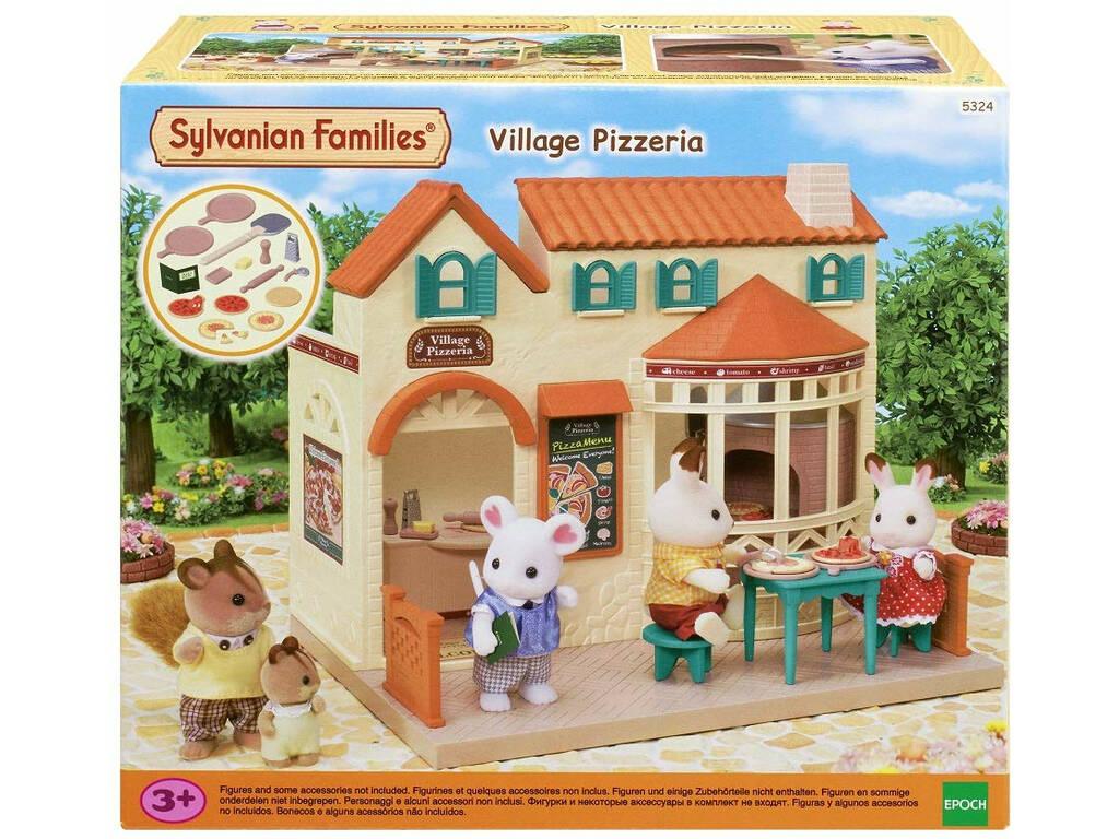 Sylvanian Families Pizzeria Epoch Para Imaginar 5324