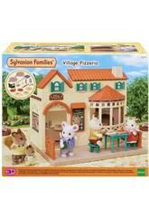 Sylvanian Families Pizzería de la Aldea Epoch Para Imaginar 5324
