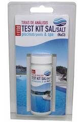 Salztest Dose 20 Analysestreifen PQS 11406470