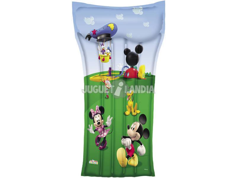 Colchoneta Hinchable Mickey Mouse de 119x61 Cm. Bestway 91006B