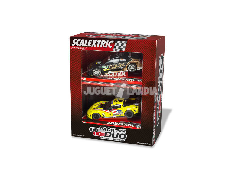 Scalextric Pack 2 Coches Surt.