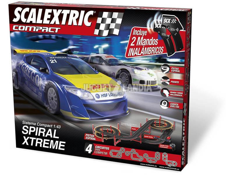 Scalextric Circuito Compact Spiral X-Treme