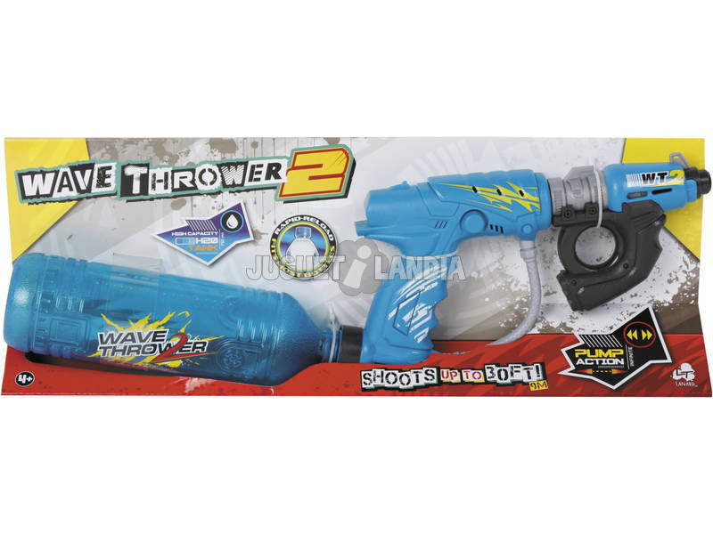 Pistola de Agua Wave Thrower II Deposito 750ml.