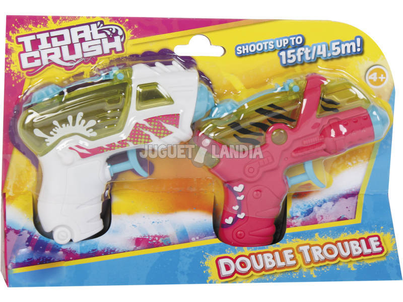 Pistola de Água Tidal Crush Pack 2