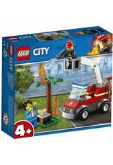 Lego City Barbecue in fumo 60212