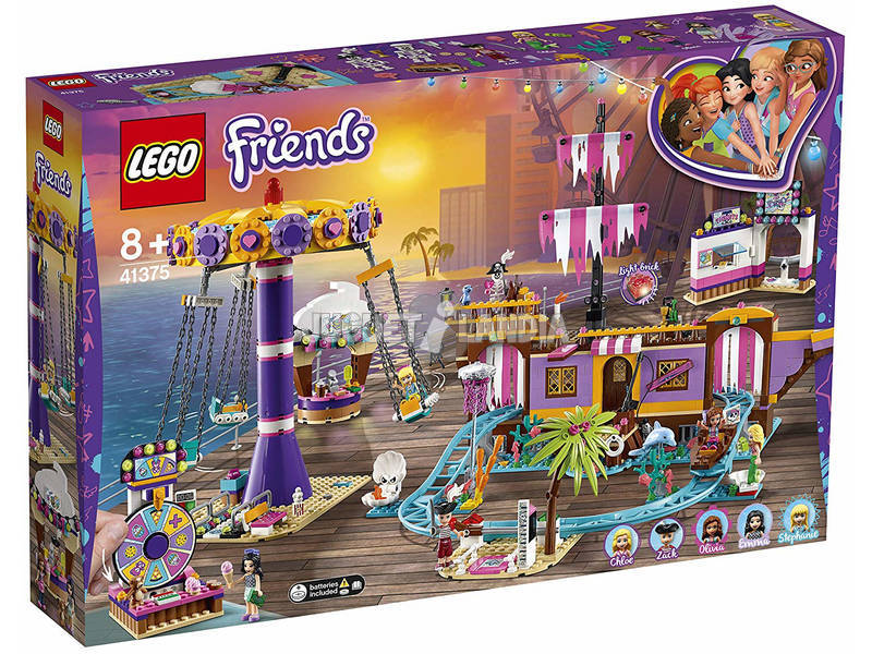 Lego Friends Molo del Divertimento de Heartlake City 41375