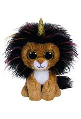 Peluche Lion with horn 15 cm. Ramsey TY 36252TY