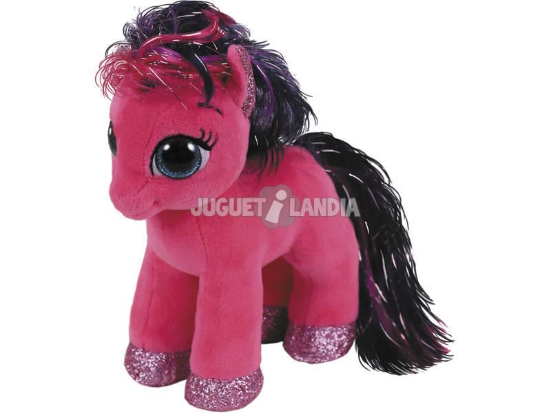 Peluche Pink Pônei 15 cm. Ruby TY 36665TY