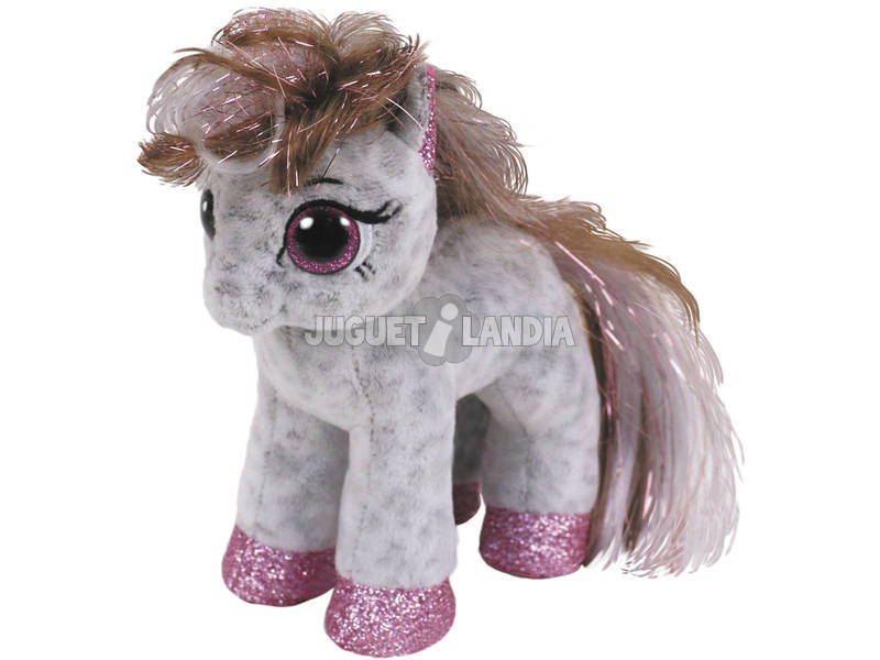 Peluche Spotted Pony 15 cm. Cinnamon TY 36667TY