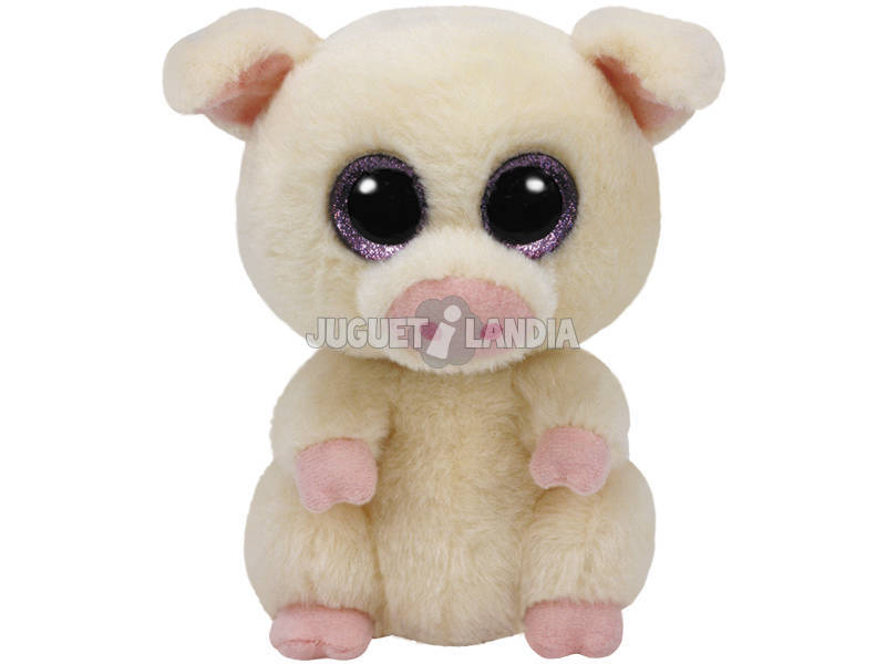 Peluche Pig 15 cm. Piggley TY 37200TY