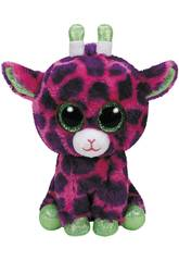 imagen Peluche Giraffa Rosa 15 cm. Gilbert TY 37220TY