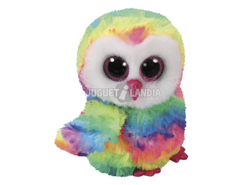 Peluche Mult Owl 15 cm. Owen TY 37221TY