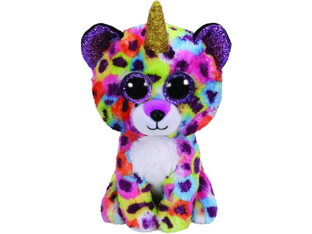 Peluche Leopardo Multicolore 15 cm. Giselle TY 36284TY