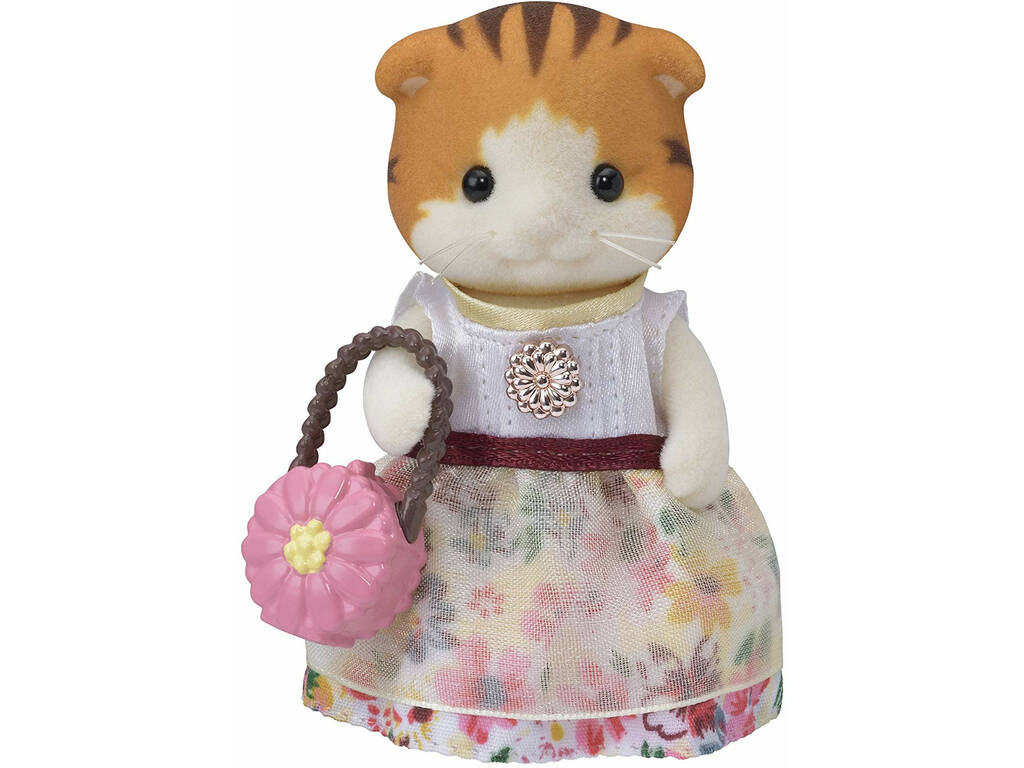Sylvanian Families Town Kit Miranda Chat Maple Epoch Para Imaginar 5363