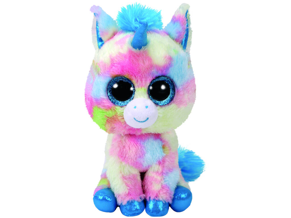 Peluche Unicorno Blu 23 cm. Blitz TY 37261TY