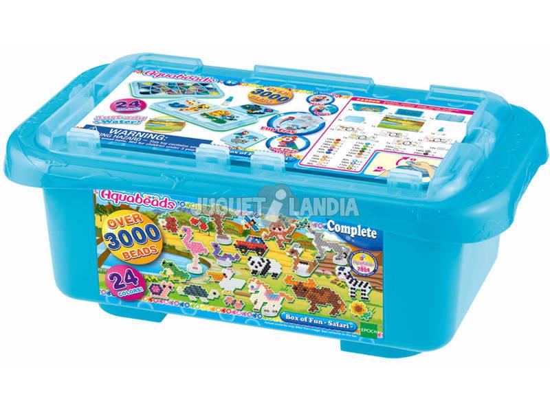 Aquabeads Boîte Ludique au Safari Epoch Para Imaginar 32808