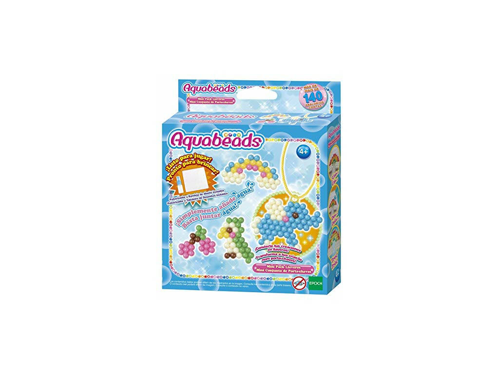 Aquabeads Minipack Adornos de Llavero Epoch Para Imaginar 31343