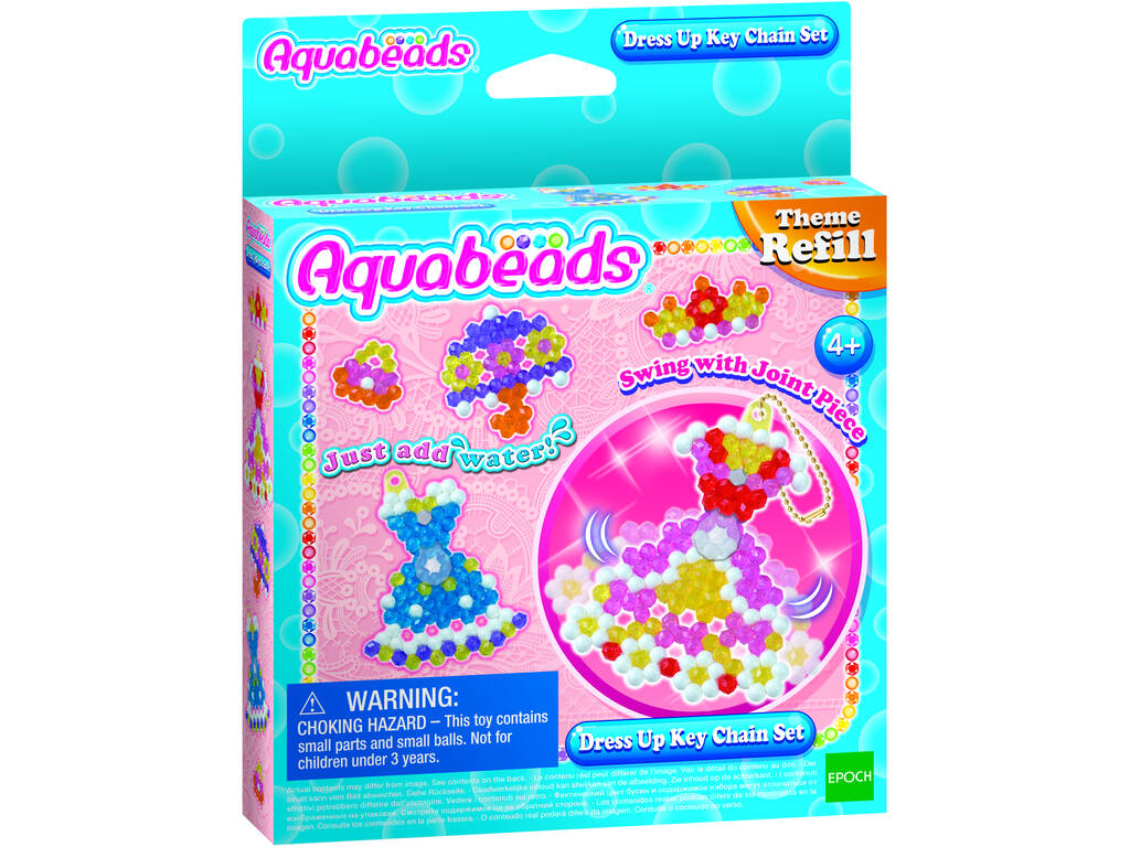 Aquabeads Set De Disfraces Epoch Para Imaginar 31362