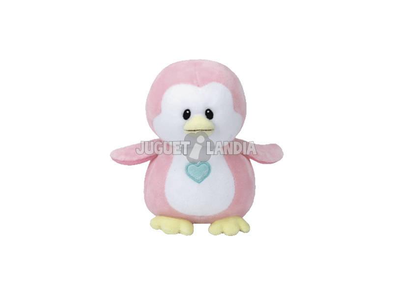 Peluche Pingouin Rose 15 cm. Penny TY 32156TY