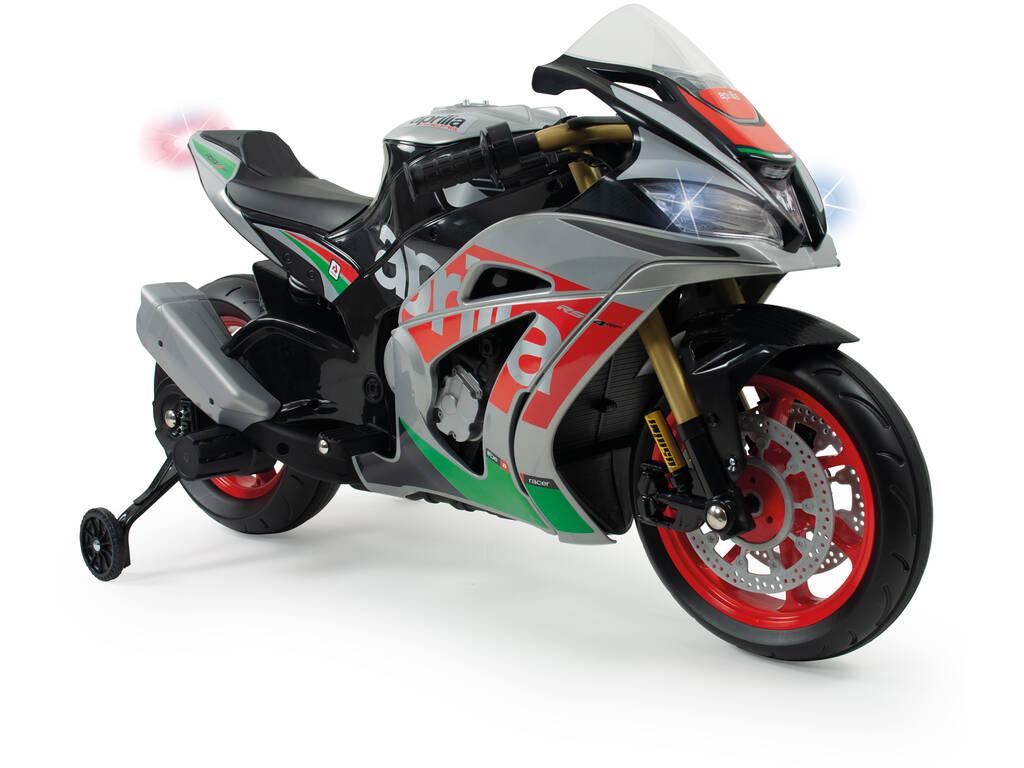 Moto Aprilia RSV 12v. con Luces y Sonidos Injusa 64900
