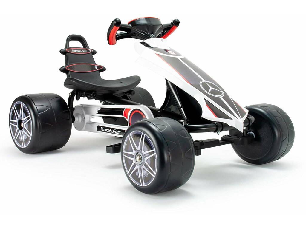 Go Kart Flecha Mercedes Pedales Injusa 4122