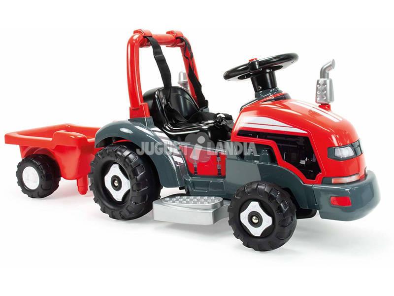 Tracteur Little 6V 2 en 1 Sons Injusa 1505