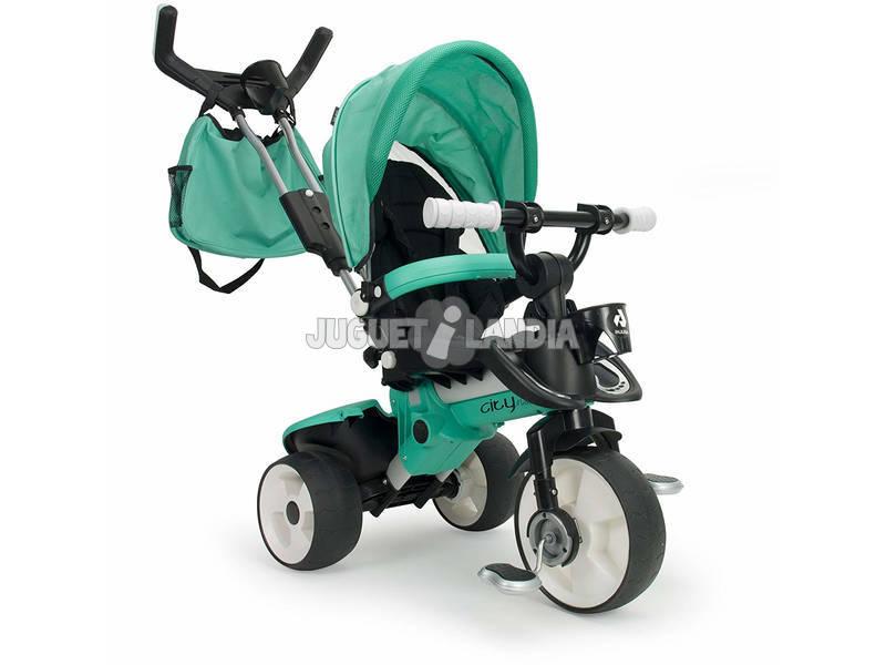 Triciclo City Max Cobalto Injusa 3270